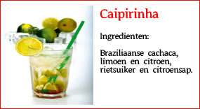 Cocktail bar Amsterdam | Caipirinha